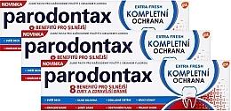 Düfte, Parfümerie und Kosmetik Zahnpasta (3x75 ml) - Parodontax Extra Fresh