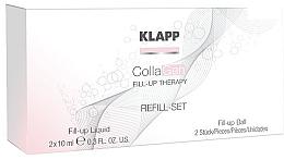 Düfte, Parfümerie und Kosmetik Gesichtspflegeset mit Kollagen - Klapp CollaGen Fill-Up Therapy Refill Set