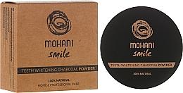 Düfte, Parfümerie und Kosmetik Natürliches Zahnweißpulver mit Aktivkohle aus Kokosnussschalen - Mohani Smile Teeth Whitening Charcoal Powder