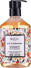 Düfte, Parfümerie und Kosmetik Marseiller Flüssigseife - Baija Ete A Syracuse Marseille Liquid Soap