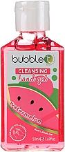 Düfte, Parfümerie und Kosmetik Antibakterielles Handgel Wassermelone - Bubble T Watermelon Hand Cleansing Gel