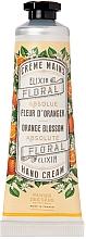 Düfte, Parfümerie und Kosmetik Pflegende Handcreme mit Orangenblüten und Olivenöl - Panier des Sens Hand Cream Ball Orange Blossom