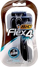 Düfte, Parfümerie und Kosmetik Einwegrasierer Flex 4 3 St. - Bic Flex 4