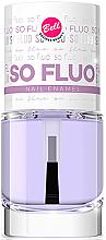 Düfte, Parfümerie und Kosmetik Nagelüberlack - Bell So Fluo Nail Enamel
