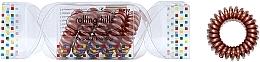 Düfte, Parfümerie und Kosmetik Spiral-Haargummis 5 St. Bronze - Rolling Hills 5 Traceless Hair Rings Cracker Bronze