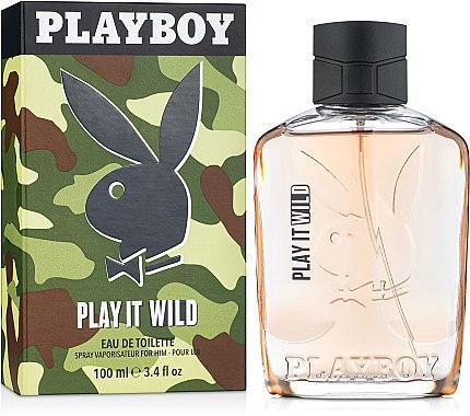 Playboy Play It Wild For Him - Eau de Toilette