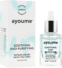 Düfte, Parfümerie und Kosmetik Beruhigendes und reinigendes Gesichtsserum mit Teebaumöl - Ayoume Tea Tree Soothing & Purifying Serum