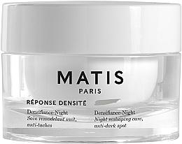 Düfte, Parfümerie und Kosmetik Zellerneuernde, reparierende und straffende Nachtpflege für das Gesicht - Matis Reponse Densite Densifiance-Night