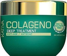 Düfte, Parfümerie und Kosmetik Anti-Aging Haarmaske mit Kollagen - Kativa Colageno Deep Treatment