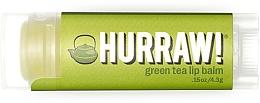 Düfte, Parfümerie und Kosmetik Lippenbalsam mit grünem Tee - Hurraw! Green Tea Lip Balm