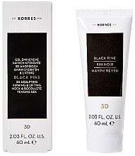 Düfte, Parfümerie und Kosmetik Straffendes Gel für Hals und Dekolleté mit Lifting-Effekt - Korres Black Pine 3D Neck Decollete Gel