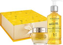 Düfte, Parfümerie und Kosmetik Gesichtspflegeset - L'occitane Immortelle Divine (Gesichtsöl 200ml + Gesichtscreme 50ml)