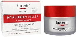 Düfte, Parfümerie und Kosmetik Tagescreme für trockene Haut SPF 15 - Eucerin Hyaluron-Filler+Volume-Lift Day Cream SPF15
