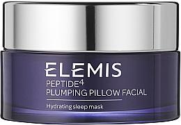 Düfte, Parfümerie und Kosmetik Feuchtigkeitsspendende Gesichtsmaske für die Nacht mit indischem Nachtjasmin - Elemis Peptide4 Plumping Pillow Facial