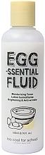 Düfte, Parfümerie und Kosmetik Feuchtigkeitsspendendes Gesichtstonikum mit Ei und Sheabutter - Too Cool For School Egg-ssential Fluid Moisturizing Toner