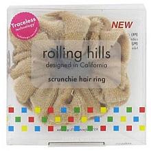 Düfte, Parfümerie und Kosmetik Haargummi beige - Rolling Hills Scrunchie Hair Rings Beige