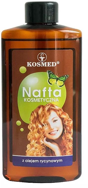 Kosmetisches Haaröl mit Rizinusöl - Kosmed