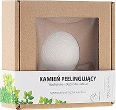 Düfte, Parfümerie und Kosmetik Peelingstein aus natürlicher weißen Tonerde für Gesicht - Pierre de Plaisir Natural Scrubbing Stone Face