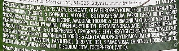 Conditioner mit Olivenöl für trockenes und geschädigtes Haar - Frulatte Olive Conditioner Dry & Damaged — Bild N3
