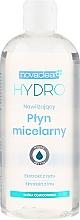 Düfte, Parfümerie und Kosmetik Feuchtigkeitsspendendes Mizellenwasser mit Flachs- und Reisextrakt - Novaclear Hydro Micellar Water