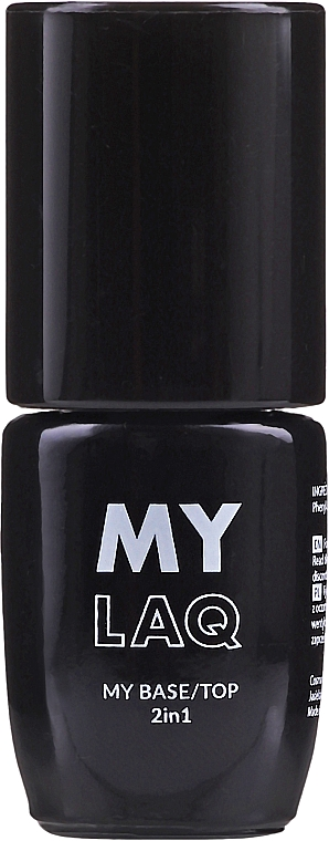 2in1 Nagelunter- und Nagelüberlack - MylaQ My Base/Top 2in1