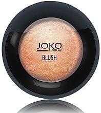 Düfte, Parfümerie und Kosmetik Gebackenes Rouge - Joko Mineral Blush