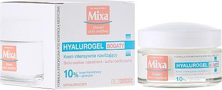Feuchtigkeitsspendende Gesichtscreme - Mixa Hyalurogel Moisturizing Face Cream