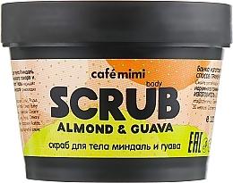 Düfte, Parfümerie und Kosmetik Körperpeeling mit Guavenextrakt und Mandelöl - Cafe Mimi Body Scrub Almond & Guava