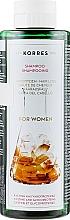 Düfte, Parfümerie und Kosmetik Shampoo gegen Haarausfall mit Cystin und Glykoproteinen - Korres Pure Greek Olive Shampoo