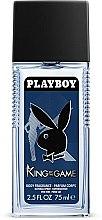 Düfte, Parfümerie und Kosmetik Playboy King Of The Game - Parfum Deodorant Spray