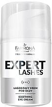 Düfte, Parfümerie und Kosmetik Beruhigende Augenkonturcreme - Farmona Professional Expert Lashes Soothing Eye Cream
