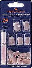 Düfte, Parfümerie und Kosmetik Künstliche Nägel French 74080 24 St. - Top Choice