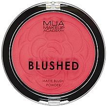 Düfte, Parfümerie und Kosmetik Gesichtsrouge - MUA Blushed Matte Powder