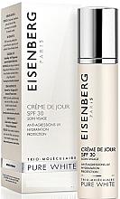 Düfte, Parfümerie und Kosmetik Feuchtigkeitsspendende und schützende Tagescreme für Gesicht, Hals und Dekolleté SPF 30 - Jose Eisenberg Pure White Day Cream SPF 30
