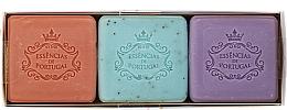 Düfte, Parfümerie und Kosmetik Naturseifen Geschenkset 3 St. - Essencias De Portugal Aromas Collection Spring Set (Seifen 3x80g)