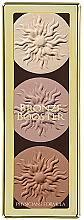 Düfte, Parfümerie und Kosmetik Highlighter Gesichtspalette - Physicians Formula Bronze Booster Glow-Boosting Strobe and Contour Palette Matte Sculpting Palette