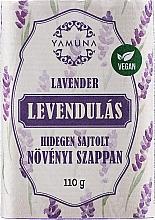 Düfte, Parfümerie und Kosmetik Mydło tłoczone na zimno Lawenda - Yamuna Lavender Cold Pressed Soap
