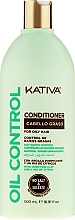 Düfte, Parfümerie und Kosmetik Haarspülung für fettiges Haar - Kativa Oil Control Conditioner