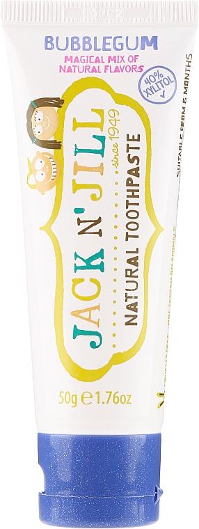 Natürliche fluoridfreie Kinderzahnpasta mit Kaugummi-Geschmack - Jack N' Jill