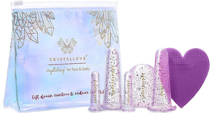 Silikon-Schröpfköpfe für Gesichts- und Körpermassage - Crystallove Crystalcup For Face & Body