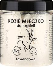 Düfte, Parfümerie und Kosmetik Natürliches Ziegenmilchbad Lavender - E-Fiore Lavender Natural Goat's Bath Milk
