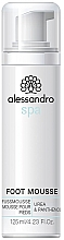 Düfte, Parfümerie und Kosmetik Fußmousse mit Urea und Panthenol - Alessandro International Spa Foot Mousse