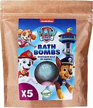 Düfte, Parfümerie und Kosmetik Badebombe mit Brombeer- und Himbeerduft 5 St. - Nickelodeon Paw Patrol (Doypack)