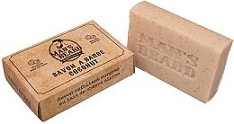 Düfte, Parfümerie und Kosmetik Exfolierende Bartseife mit Kokosnuss - Man's Beard Savon Exfoliant Coconut Soap