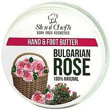 """Düfte, Parfümerie und Kosmetik Reichhaltige, nährende und feuchtigkeitsspendende Hand- und Fußcreme """"Bulgarische Rose"""" - Stani Chef's Bulgarian Rose Hand & Foot Butter"""