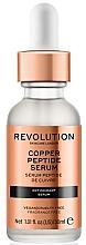 Düfte, Parfümerie und Kosmetik Gesichtsserum mit Peptiden - Revolution Skincare Copper Peptide Serum