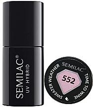 Düfte, Parfümerie und Kosmetik Nagellack - Semilac UV Hybrid Sweater Weather