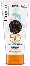 Düfte, Parfümerie und Kosmetik Natürliche Sonnenschutzemulsion für Kinder SPF 50 - Lirene Sun Natura Kids Protective Emulsion SPF50