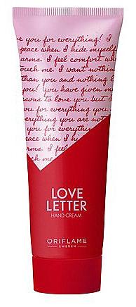 Handcreme - Oriflame Love Letter Hand Cream