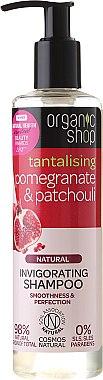 Kräftigendes Shampoo mit Bio Granatapfel & Patschuli - Organic Shop